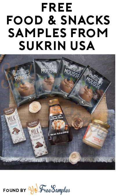 FREE Food & Snacks Samples from Sukrin USA