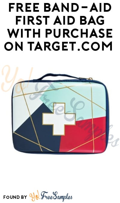 Ends Today: FREE Band-Aid First Aid Bag with Purchase on Target.com