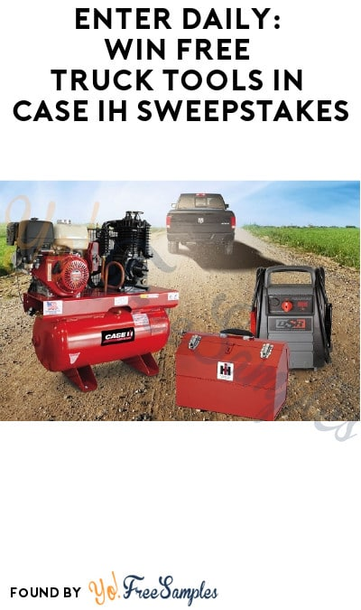 Enter Daily: Win FREE Truck Tools in Case IH Sweepstakes