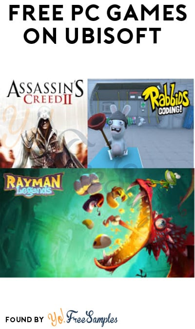FREE PC Games Like Assassin's Creed II, Rayman Legends & More on Ubisoft (Account Required)