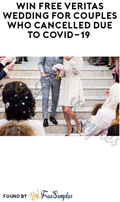 Win FREE Veritas Wedding for Couples Who Cancelled due to COVID-19 (Photo/ Social Media Required)