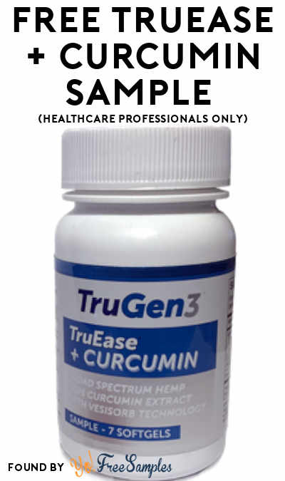 FREE TruEase + Curcumin Sample (Healthcare Professionals Only)