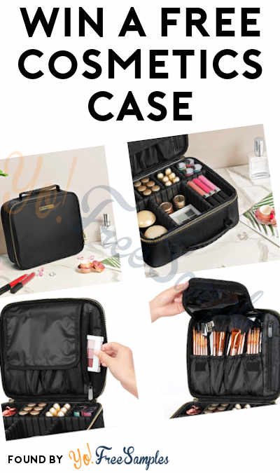 Win FREE A Cosmetics Case From SONGMICS Comestic Cases Giveaway