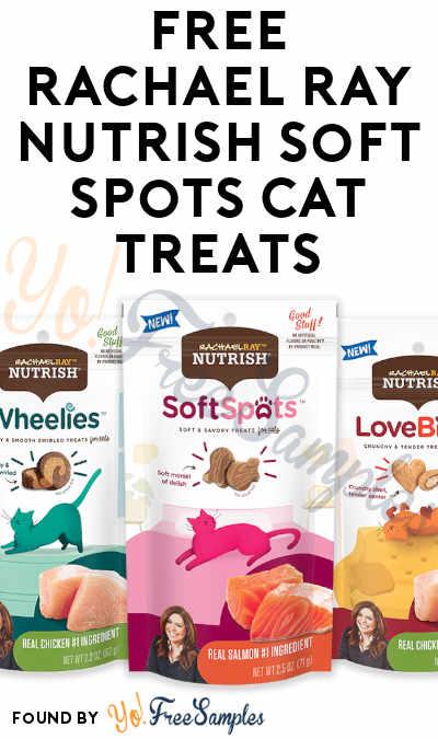FREE Rachael Ray Nutrish Soft Spots Cat Treats