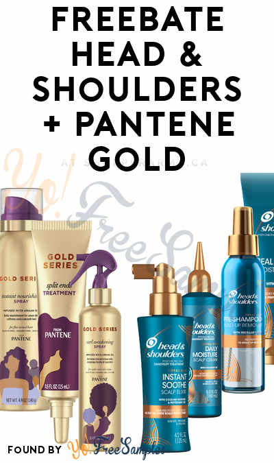 FREEBATE Head & Shoulders Royal Oils + Pantene Gold Series Hair Care Products At Shopper Army (Must Apply)
