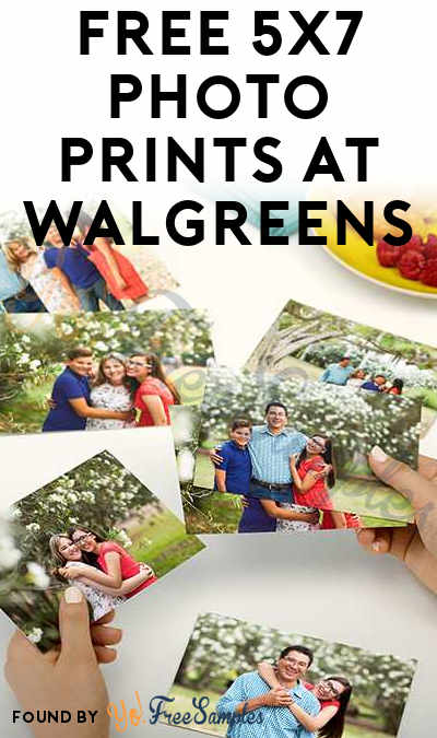 6 FREE 5×7 Photo Prints At Walgreens (In-Store Pickup Only)