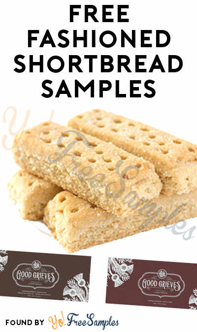 FREE Old Fashioned Shortbread Samples