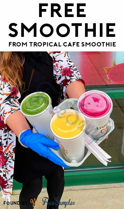 FREE Tropic Time Smoothie & American Nurses Foundation Donation At Tropical Smoothie Cafe