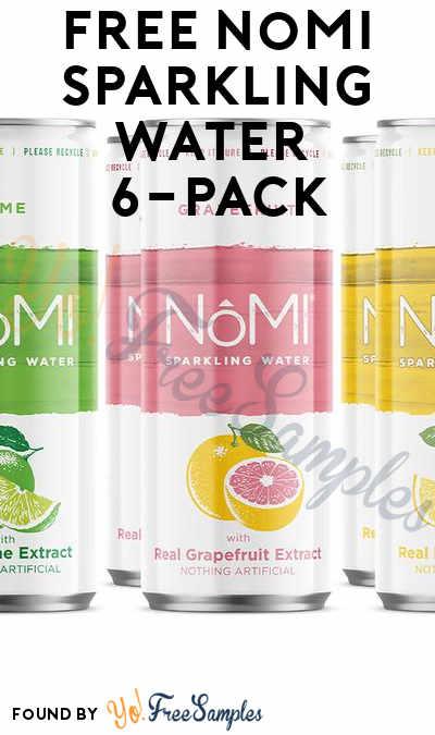 FREE NoMI Sparkling Water 6-Pack