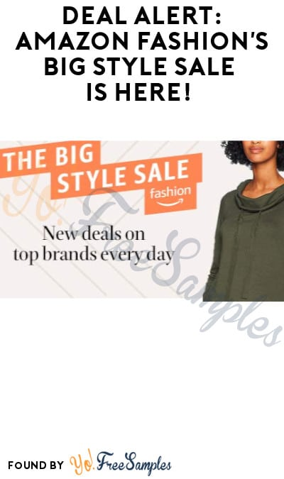DEAL ALERT: Amazon Fashion's Big Style Sale is Here!