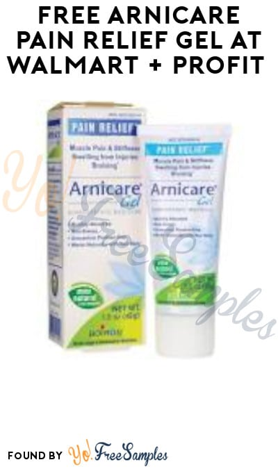 FREE Arnicare Pain Relief Gel at Walmart + Earn A Profit (Clearance, Coupon & Ibotta Required)