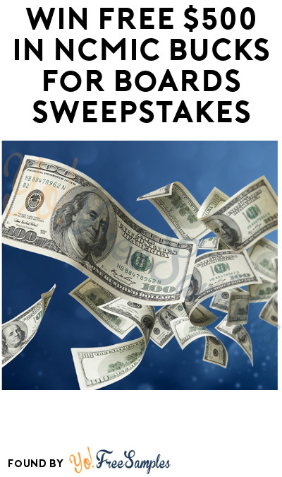 Win FREE $500 in NCMIC Bucks for Boards Sweepstakes (Chiropractic Students only)