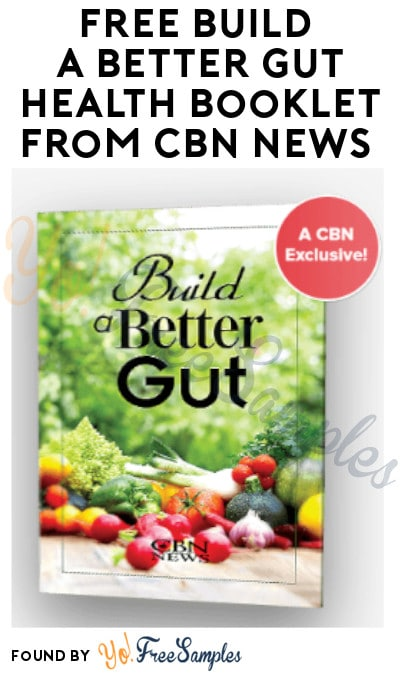 FREE Build a Better Gut Health Booklet from CBN News
