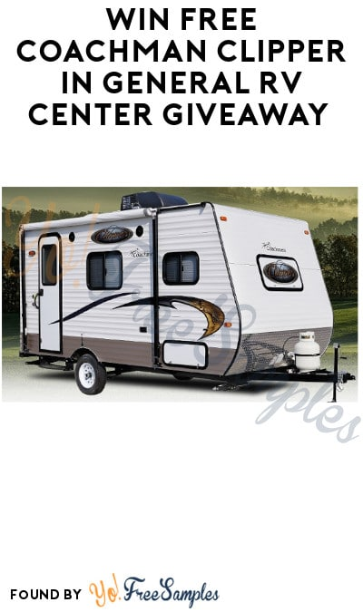 Win FREE Coachman Clipper in General RV Center Giveaway
