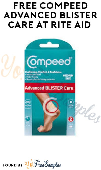 FREE Compeed Advanced Blister Care at Rite Aid (Account & Ibotta Required)