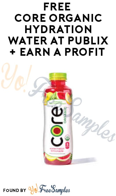 FREE Core Organic Hydration Water at Publix + Earn A Profit (Ibotta Required)