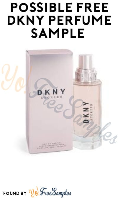 Possible FREE DKNY Perfume Sample (Facebook Required)