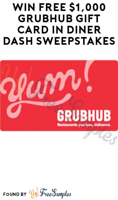 Win FREE $1,000 Grubhub Gift Card in Diner Dash Sweepstakes