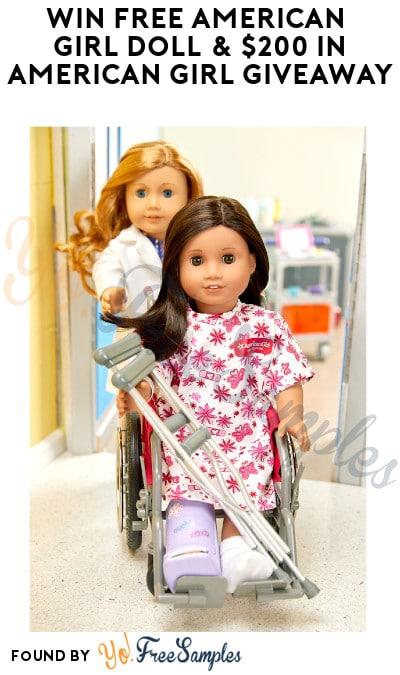 Win FREE American Girl Doll & $200 in American Girl Giveaway