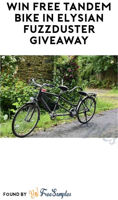 Win FREE Tandem Bike in Elysian Fuzzduster Giveaway (Ages 21 & Older Only + Select States)
