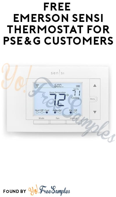 FREE Emerson Sensi Thermostat for PSE&G Customers (NJ Only)