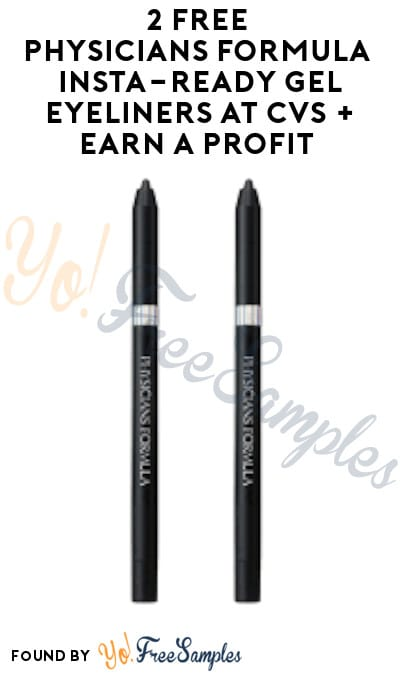 2 FREE Physicians Formula Insta-Ready Gel Eyeliners at CVS + Earn A Profit (Rewards Card Required)
