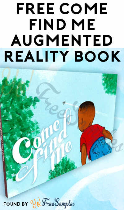 FREE Come Find Me Augmented Reality Book