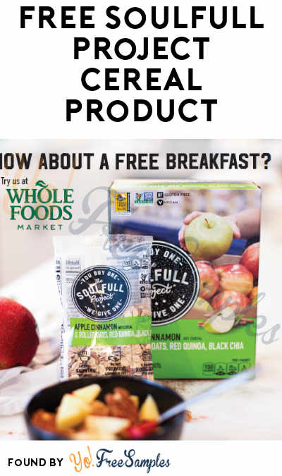 FREE Full-Size Soulfull Project Cereal Product