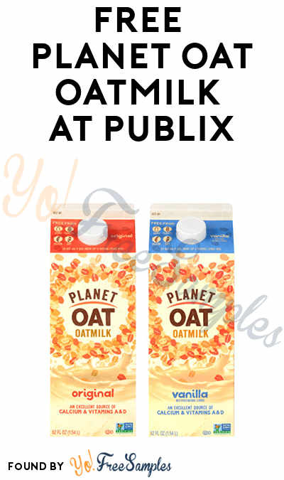Back! FREE Planet Oat Oatmilk 52 oz at Publix (Account Required)