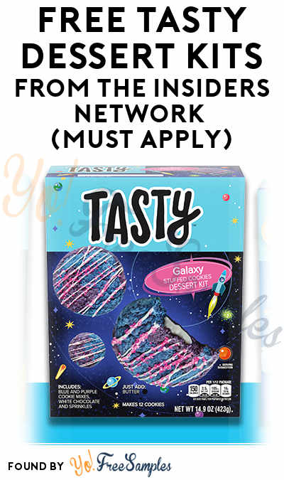FREE Tasty Dessert Kits From The Insiders Network (Must Apply)