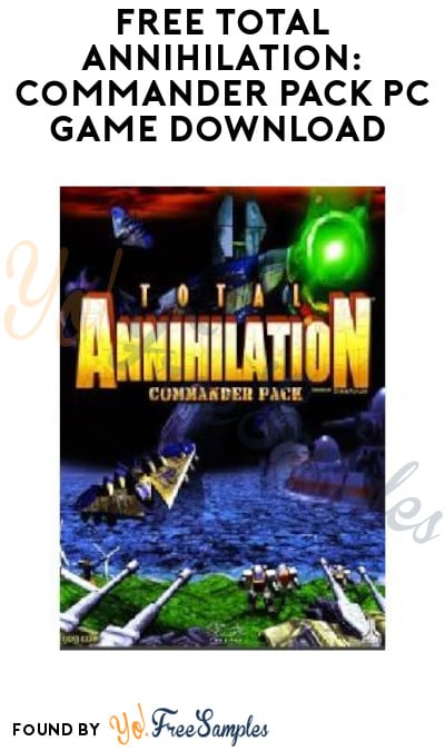 FREE Total Annihilation: Commander Pack PC Game Download (GOG Account Required)