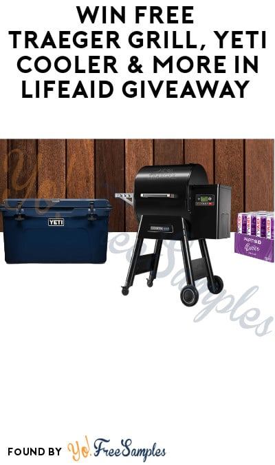 Win FREE Traeger Grill, Yeti Cooler & More in LifeAID Giveaway
