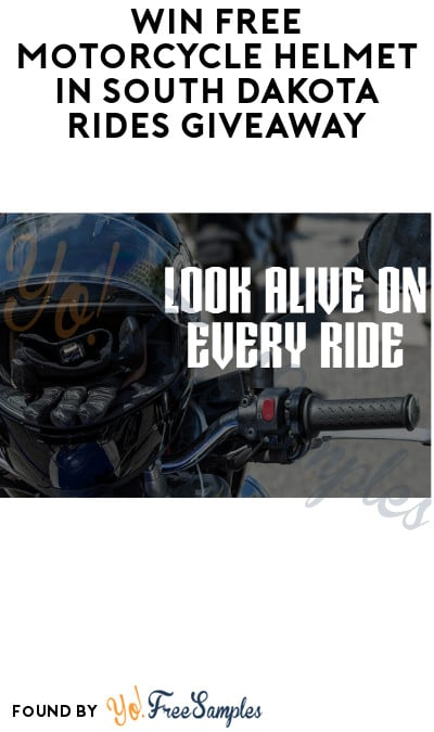 Win FREE Motorcycle Helmet in South Dakota Rides Giveaway