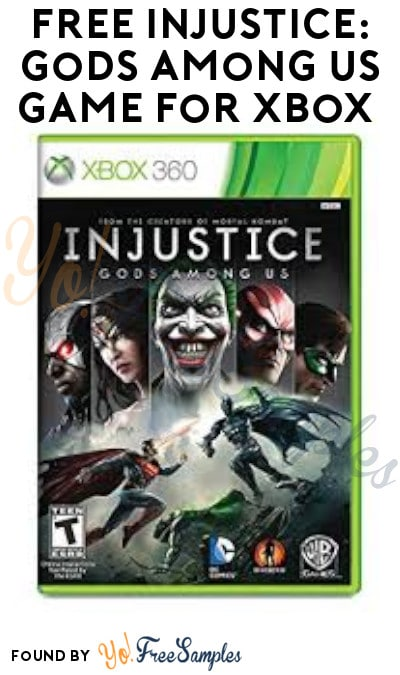 FREE Injustice: Gods Among Us Game for Xbox (Microsoft Account Required)