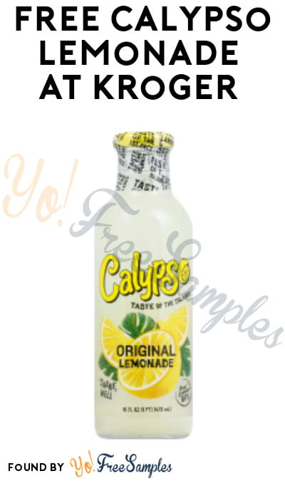 FREE Calypso Lemonade at Kroger (Account / Coupon Required)