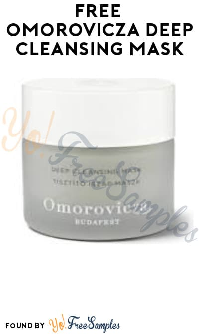 Possible FREE Omorovicza Deep Cleansing Mask