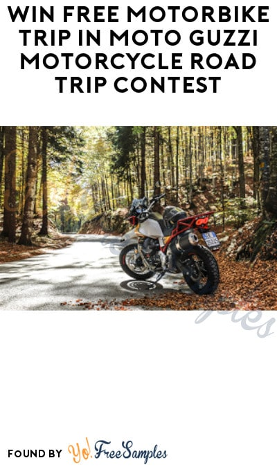 Win FREE Motorbike Trip in Moto Guzzi Motorcycle Road Trip Contest (Ages 21 & Older Only + Motorcycle License Required)