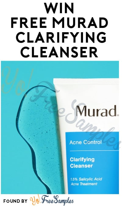 Possible FREE Murad Clarifying Cleanser Sample (Instagram Required)