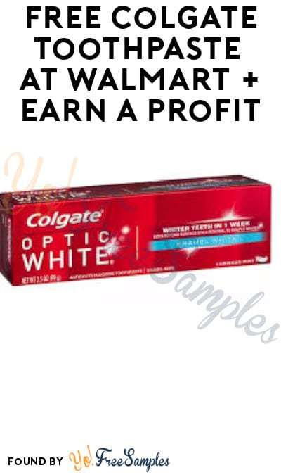 FREE Colgate Toothpaste at Walmart + Earn A Profit (Coupons.com, Ibotta & Shopkick Required)