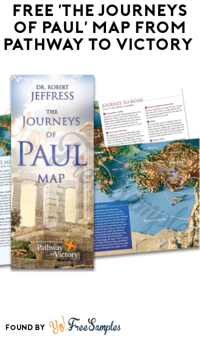 FREE 'The Journeys of Paul' Map from Pathway to Victory