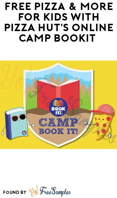 FREE Pizza & More for Kids with Pizza Hut's Online Camp Book IT (Enrollment Now Open!)