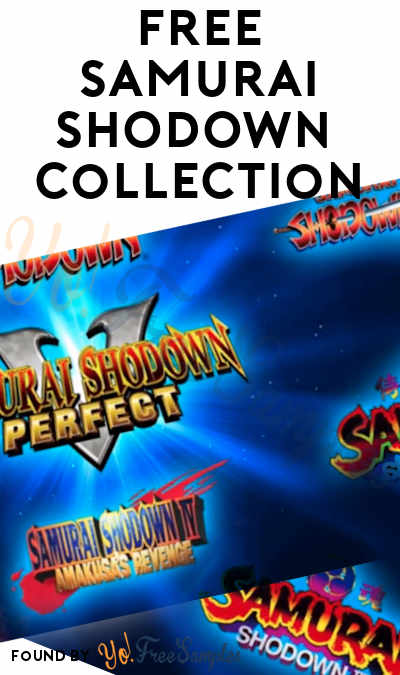 FREE Samurai Shodown Neogeo Collection PC Game From Epic Games
