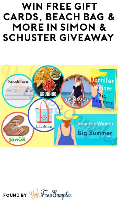 Win FREE Gift Cards, Beach Bag & More in Simon & Schuster Giveaway