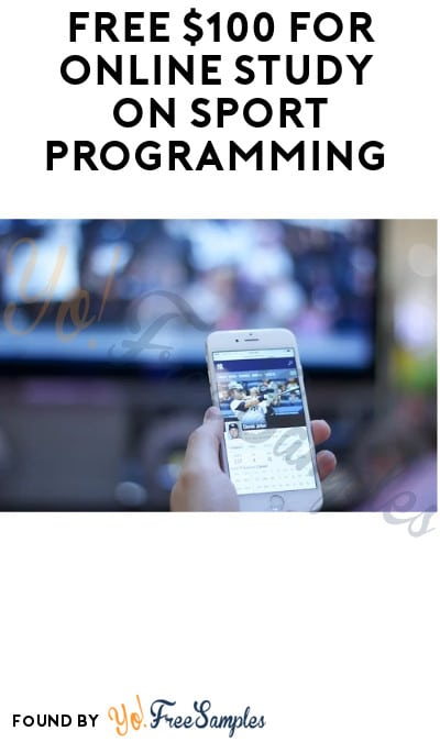 FREE $100 for Online Study on Sport Programming (Must Apply)