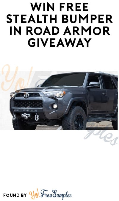 Win FREE Stealth Bumper in Road Armor Giveaway