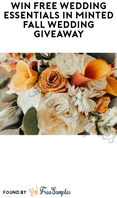 Win FREE Wedding Essentials in Minted Fall Wedding Giveaway