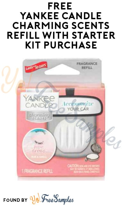 FREE Yankee Candle Charming Scents Refill with Starter Kit Purchase