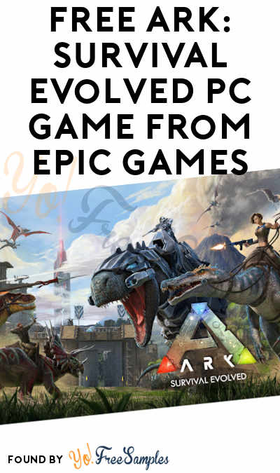 FREE ARK: Survival Evolved PC Game From Epic Games