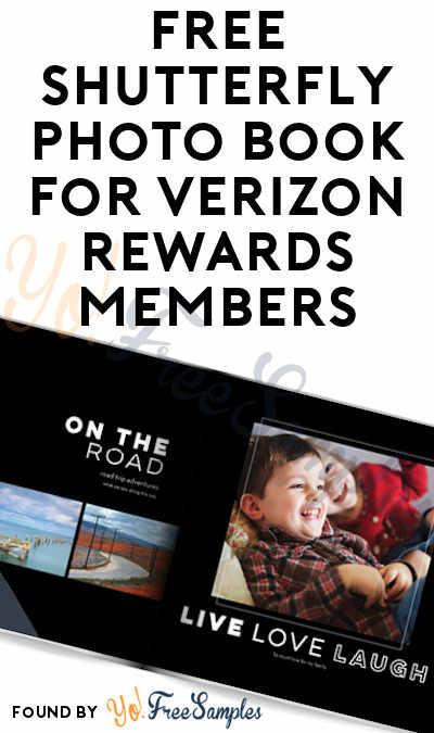FREE Shutterfly Photo Book For Verizon Rewards Members