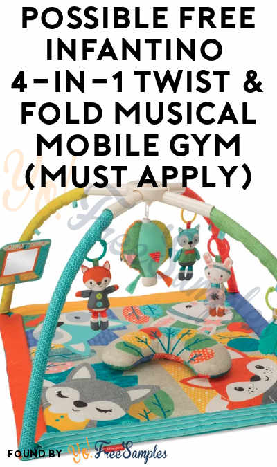 Possible FREE Infantino 4-in-1 Twist & Fold Musical Mobile Gym (Must Apply)